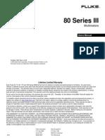 Fluke 80 series DMM