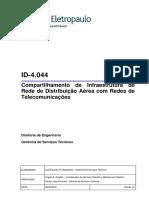 ID-4.044-Compartilhamento de Infraestrutura de RDA Com Redes de Telecomunicações