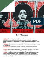 stencil self portrait powerpoint