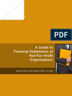 CPA Guide to Financial Statements of Not-For-Profits