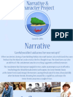 Narrative and Character Project