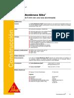 FT 6157-01-10 Termo Membrana Sika