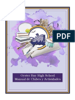 obhs club description book  2016-17 spanish