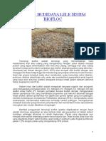 TEKNIK BUDIDAYA LELE SISTIM BIOFLOC 2.pdf