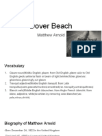 dover beach presentation
