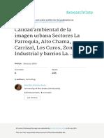 Calidad Ambiental de La Imagen Urbana Sectores_Merida