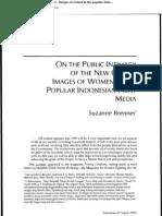 Woman in Pop Print Media