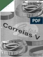 """Catalogo Correias """"V"""""""