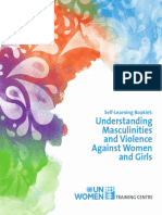 Masculinities Booklet -UN Women