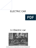 Batteries in Electric Cars