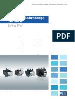 WEG Reles de Sobrecarga Termico Linha Rw 50042397 Catalogo Portugues Br 2