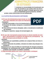 (2) AFO- Adm. Financeira Dos Estoques