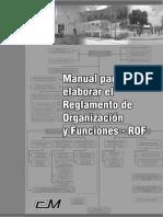 Manual Para Elaboracion Del Rof Parte 1
