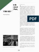 Prensa y redes de Comunicación en El Virreinato del Perú 1790-1821
