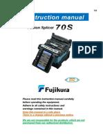 Manual Fujikura 70s
