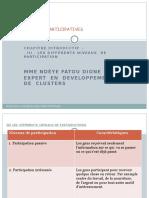 IFACE Les Différents Niveaux de Participations 2014