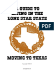 A Guide to Living in Texas