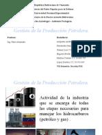Presentación Control de Gestion Petrolera