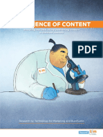 The Science of Content TFM and BuzzSumo Research