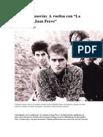 Santiago Auserón y la canción de Juan Perro