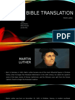 Bible Translation Martin