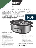 Sl6470skt Slow Cooker