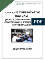 Enf com textual Qué y cómo desarrollar la comp y exp de textos orales.pdf