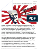 How Colonel Sanders Became Father Christmas in Japan