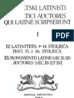 Hrvatski latinisti (sv. 1)