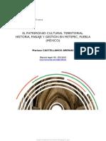 El Patrimonio Cultural Territorial. Historia, Paisaje y Gestión en Metepec, Puebla (México
