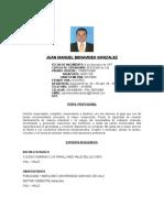 Hv Juan m Benavidez