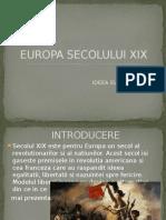 Europa Secolului XIX