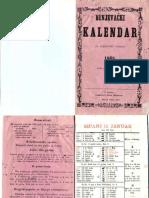 Bunjevacki kalendar 1868