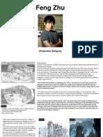 Feng Zhu- Production Designer Profile