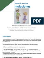 Simulaciones Anabel Cornago y Equipo