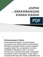 Aspek Perkembanga Knk Knk