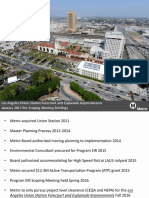 LAUS Forecourt and Esplanade Improvements EIR Scoping Meeting Briefings-January 2017