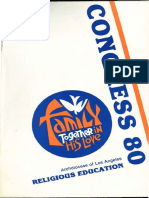 RECongress 1980 Program Book