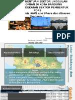 Analisis PDRB Kota Bandung