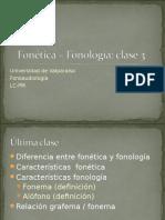 03. Semivocales y Consonantes