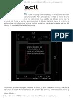 Curso Gratis de AutoCad Básico 2010 - Aprender Con Un Ejemplo _ AulaFacil 6
