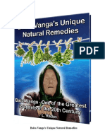 Baba Vanga Unique Home Remedies