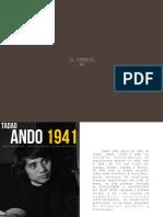Tadao Ando, El Croquis 44