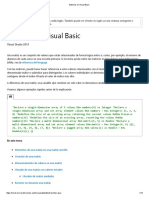 Matrices en Visual Basic