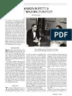 Washington PostBuffett Analysis1