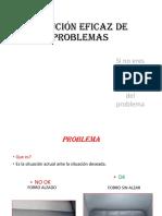 Solución Eficaz de Problemas