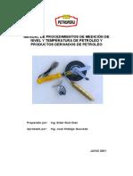 Manual de Medicion de Nivel y Temperatura