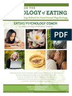 Nutrición - Cursos - The Institute for Psychology of Eating - School Catalog January 2015