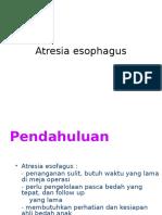 Atresia Esophagus