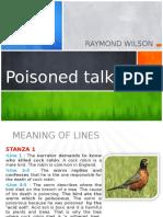 F3 Poem - Poisoned Talk